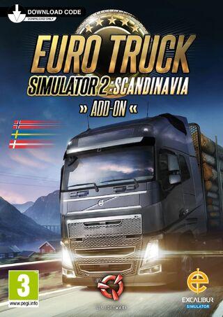 ETS2 Scandinavia cover