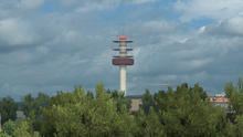 Nantes radio tower