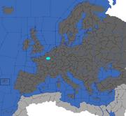 """""""map showing Ile de France"""""""