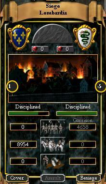 Siege screen EUII