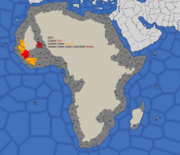 Map showing Mali's 1419 starting position