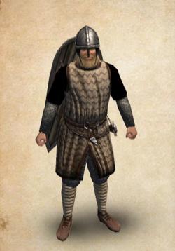 Castillian Man at Arms