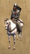 Santiago MSarge mounted