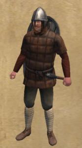 Saxon yeoman