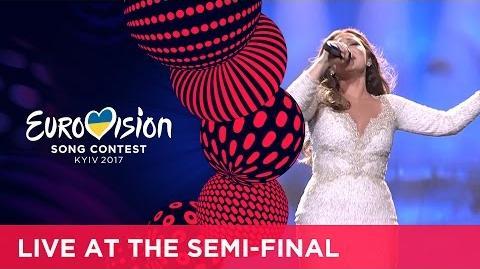 Claudia Faniello - Breathlessly (Malta) LIVE at the second Semi-Final
