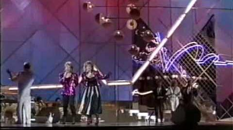 Eurovision 1985 Norway - Bobbysocks - La det swinge