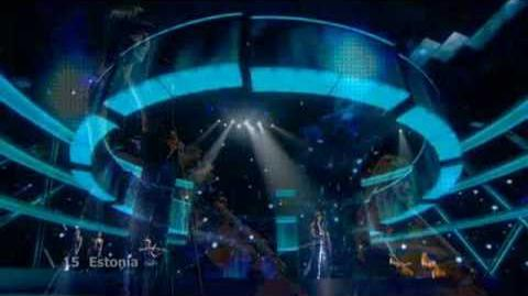 Eurovision 2009 Final - Estonia - Urban Symphony - Rändajad