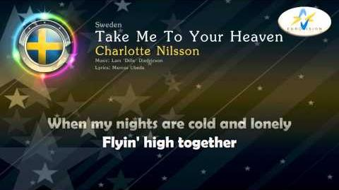 """1999 Charlotte Nilsson - """"Take Me To Your Heaven"""" (Sweden)"""
