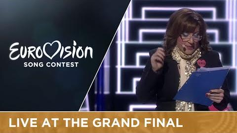 Lynda Woodruff (Interval Act at the Grand Final of the 2016 Eurovision Song Contest)