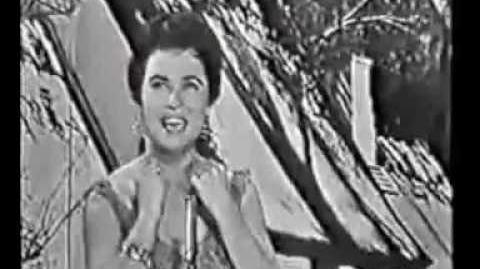 Eurovision 1959 Denmark Birthe Wilke Uh, jeg ville ønske jeg var dig
