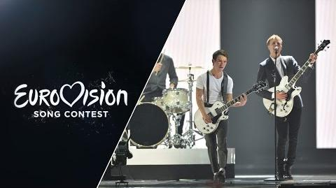 Anti Social Media - The Way You Are (Denmark) - LIVE at Eurovision 2015- Semi-Final 1