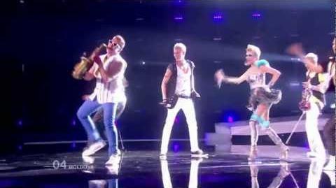Eurovision 2010 - Moldova - Sunstroke Project & Olia Tira - Run away - HD 720p STEREO SUBTITLED