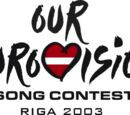 Our Eurovision 2003