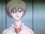 Kaworu talking to Rei (ep 24)