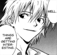 Kaworu thoughts on Arael (Volume 09)