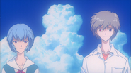 Kaworu and Rei (End of Evangelion)