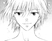 Kaworu in the manga
