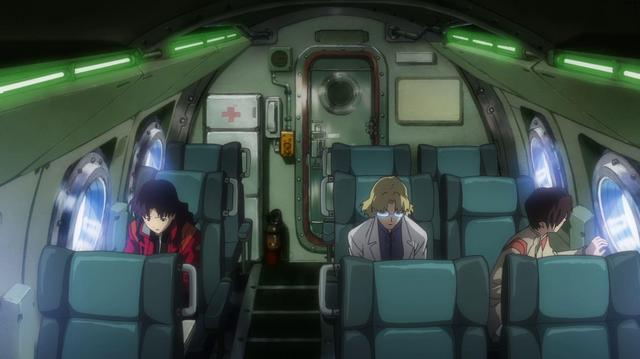 File:Misato with Ritsuko and Maya (Rebuild).png