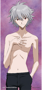 Kaworu Nagisa (Shirtless) Promotional Artwork