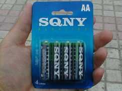 SQNY batteries