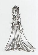 Book art - White Queen
