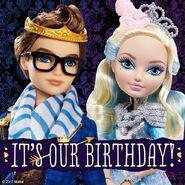 Facebook - Happy Birthday Dexter and Darling