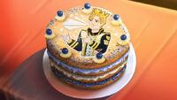Apple's Birthday Bakeoff - Daring's cake