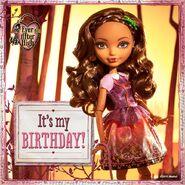 Facebook - it's Cedar's birthday