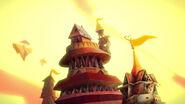 Way Too Wonderland - Card Castle turrets