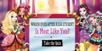 Which Ever After High Student Is Most Like You?
