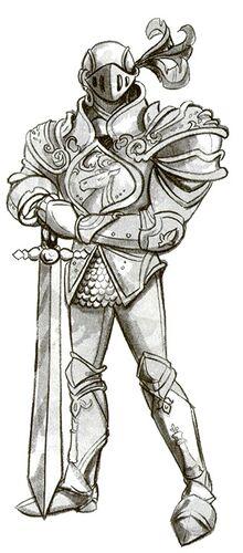 White Knight - Book Art