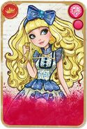 Website - Blondie Lockes card