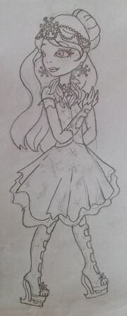 Gracie Fairest on Ice Sketch