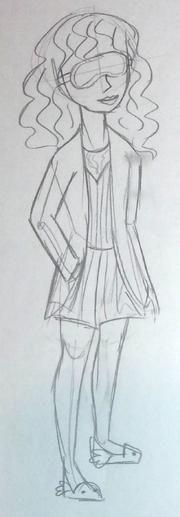 Pythia getting fairest sketch