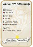 Fairy Royal Card Back