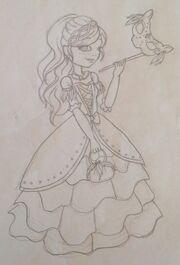 Gracie Thronecoming Sketch