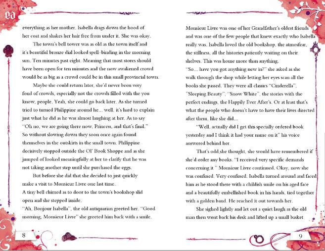 Isabella Story 8-9