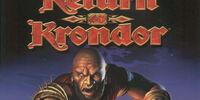 Return to krondor