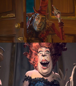 Archibald Snatcher as Madame Frou Frou
