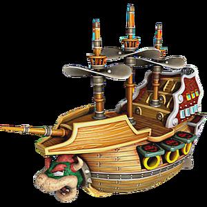Bowser's Airship