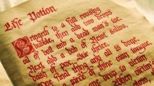 The Life Potion Recipe