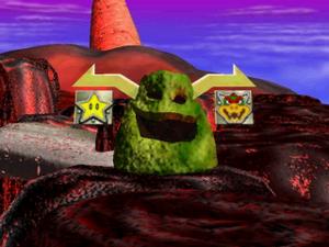 Bowser's Magma Mountain 4