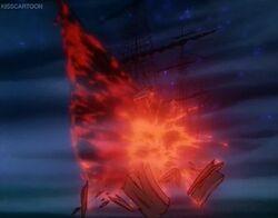 Destruction of the Ship