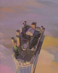 Castle Wyvern Sky