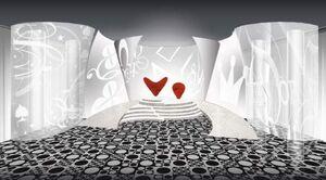 Happy Hearts Casino's Throne Room