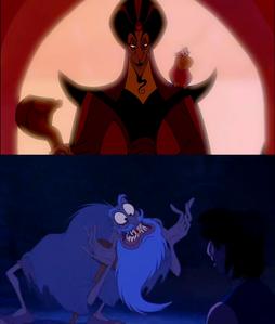 Jafar as an old man