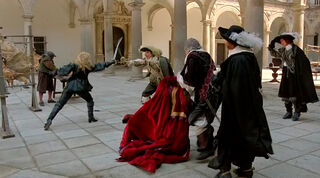 Justine de Winter (played by Kim Cattrall) The Return of the Musketeers 814