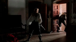 Justine de Winter (played by Kim Cattrall) The Return of the Musketeers 2063
