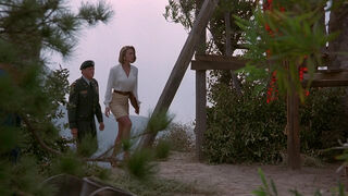 Michelle Rodham Huddleston (played by Brenda Bakke) Hot Shots 2 14