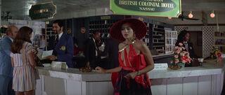 Fatima Blush (played by Barbara Carrera) Never Say Never Again 127-0